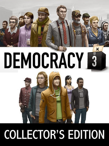 Democracy 3 Collector's Edition (PC/MAC/LINUX)