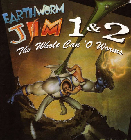 Earthworm Jim 1+2: The Whole Can 'O Worms (PC/MAC)