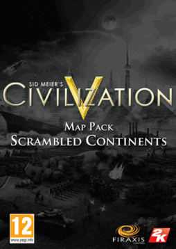 Sid Meier's Civilization V: Scrambled Continents Map Pack (PC/MAC)
