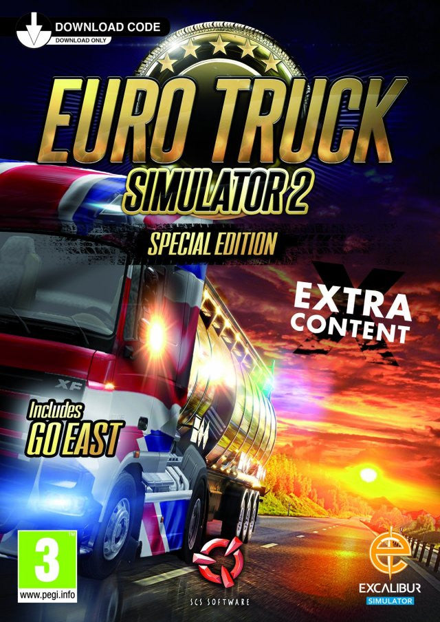 Euro Truck Simulator 2 + Going East! (PC/LINUX)