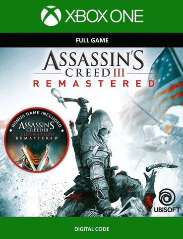 Assassin's Creed III: Remastered (XBOX ONE)