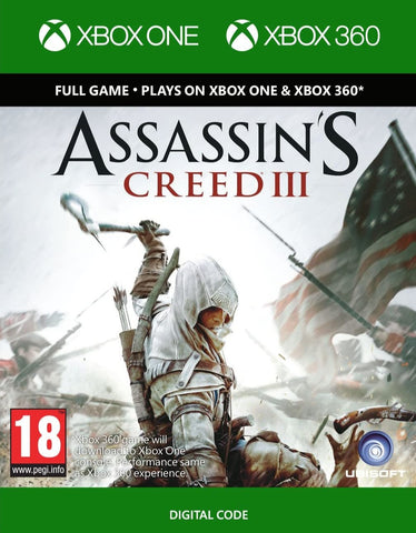 Assassin's Creed III (XBOX 360/ONE)