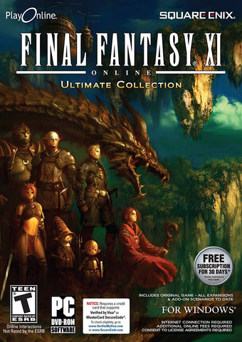 FINAL FANTASY XI Online: Ultimate Collection (PC)