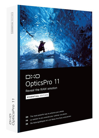 DxO OpticsPro 11 Essential (PC/MAC)