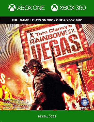 Tom Clancy's Rainbow Six Vegas (XBOX 360/ONE)