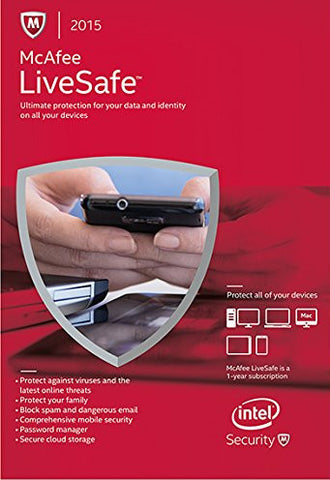 McAfee LiveSafe 2015 [1 Year] (PC)
