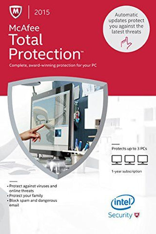 McAfee Total Protection 2015 [3PCs] (PC)