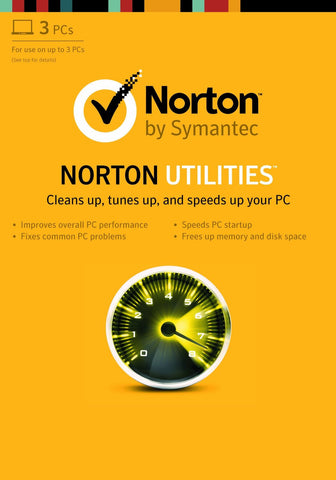 Norton Utilities 16.0 [For 3 PCs] (PC)