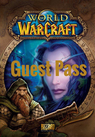 World of WarCraft Guest Pass (PC/MAC)