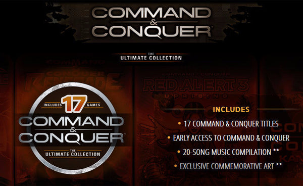 Command And Conquer Ultimate Collection: Command & Conquer: The Ultimate Collection (PC) Download