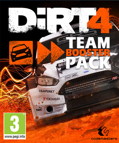 Dirt4: Team Booster Pack (PC)