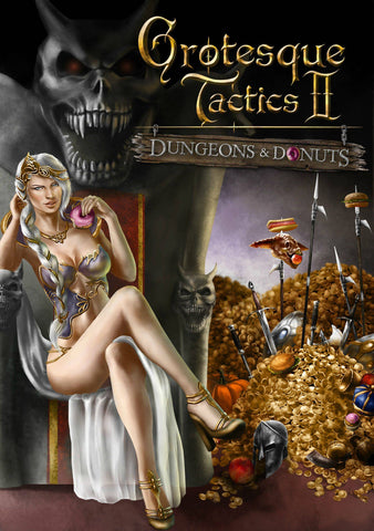 Grotesque Tactics 2: Dungeons and Donuts (PC)
