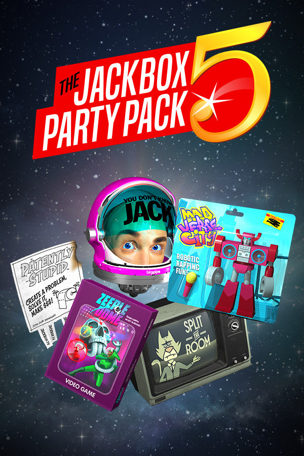The Jackbox Party Pack 5 (PC/MAC/LINUX)