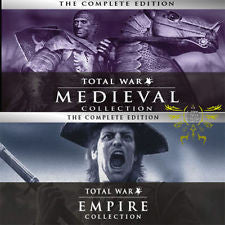 Empire: Total War Collection + MEDIEVAL: Total War Collection (PC)