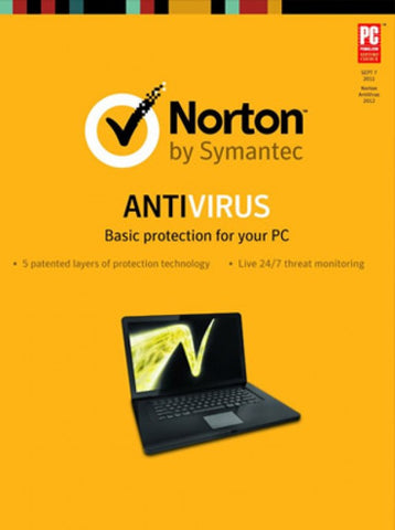Norton Antivirus [3 PCs/1 Year] (PC)