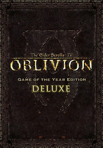 The Elder Scrolls IV: Oblivion GOTY Deluxe Edition (PC)