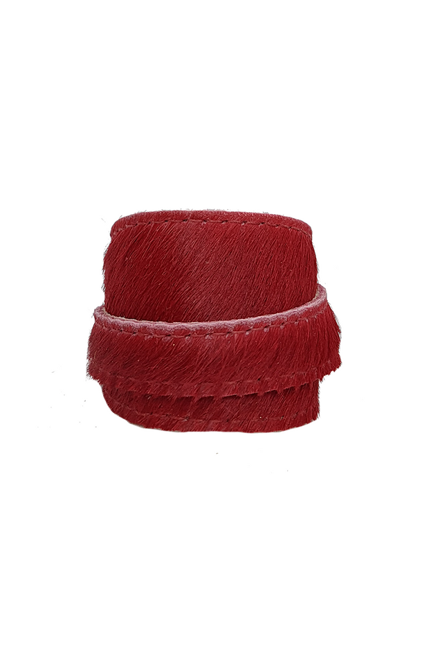 Cherry Red Single Cuff
