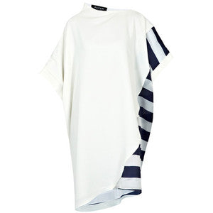 Puroto Dress Blue/Cream