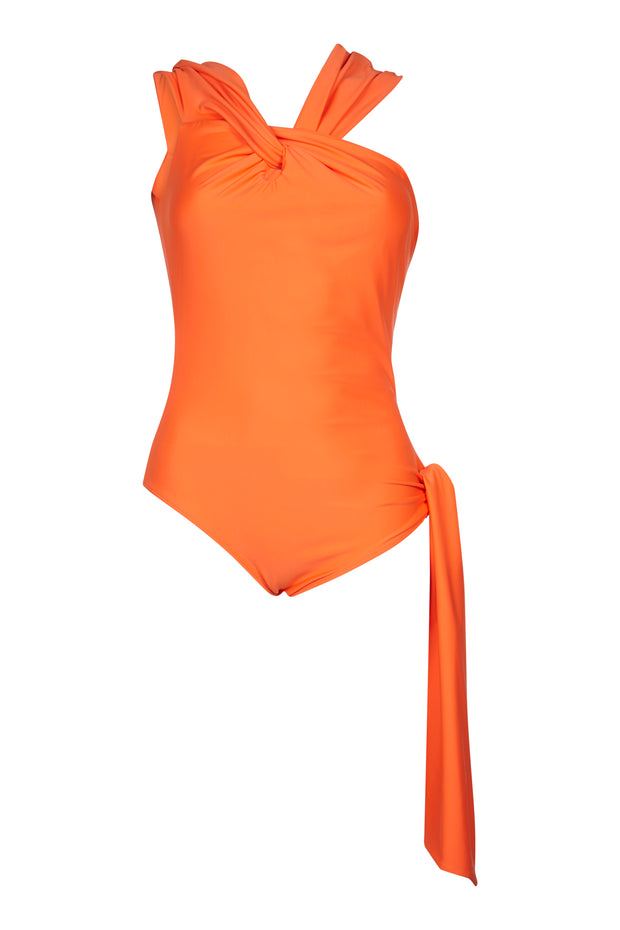Block Colour Valcano Swimsuit