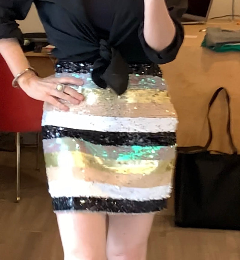 sequin stripe mini......a fave from sale