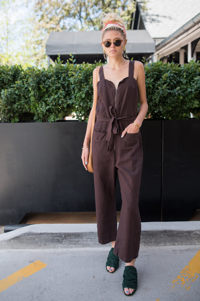 chocolate jumpsuit............yes please