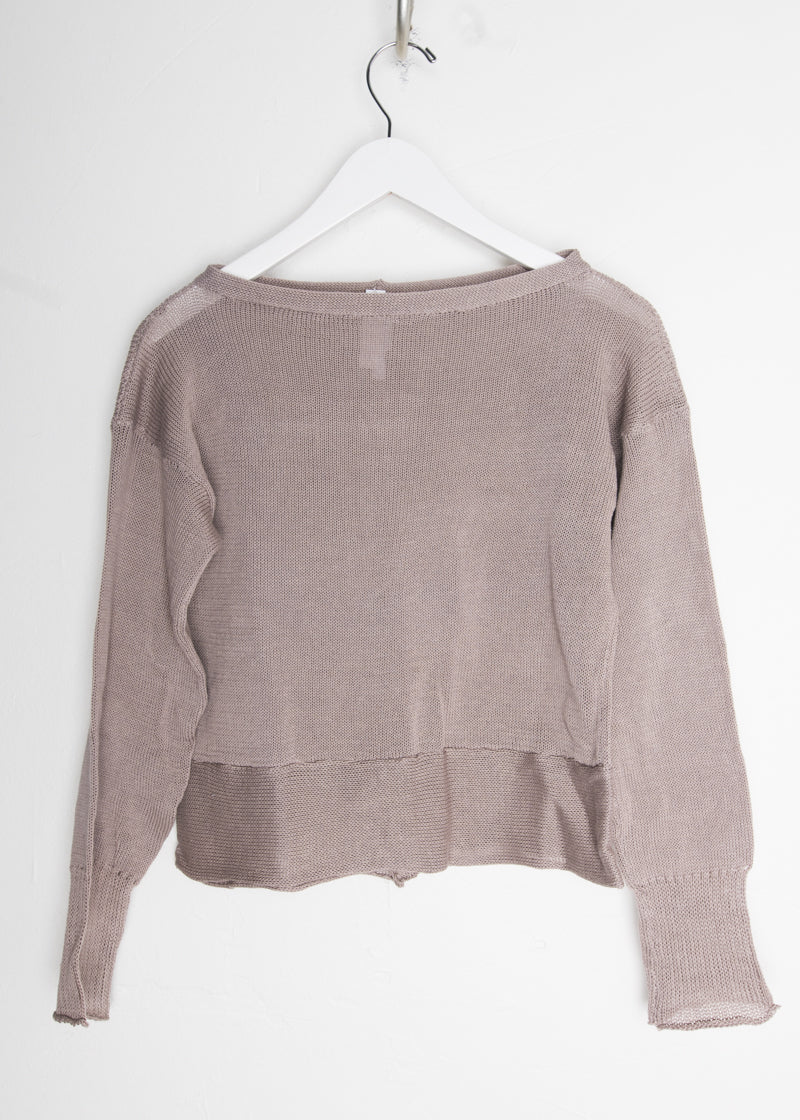 souchi crop kehle sweater