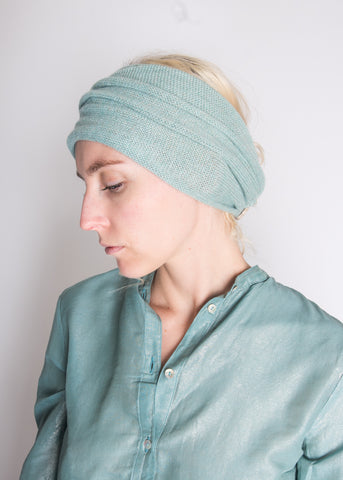 souchi tricia cotton & cashmere head scarf