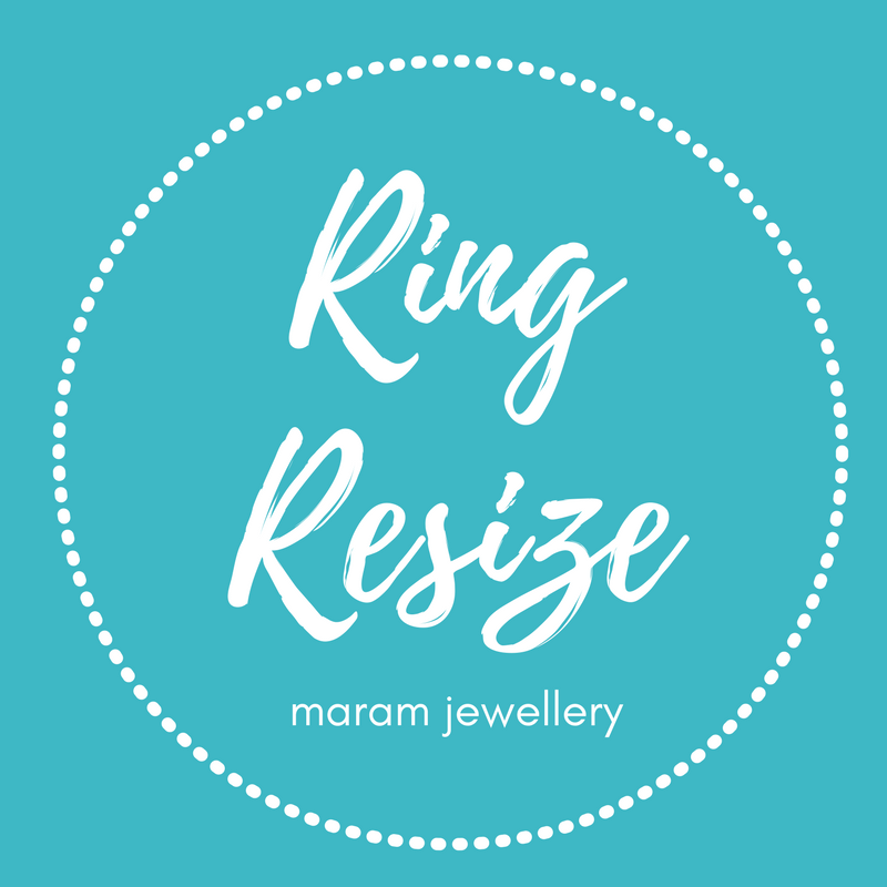 Ring Resize Service - Only available for maram jewellery rings