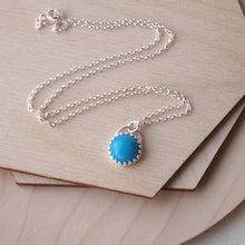 Load image into Gallery viewer, Turquoise Gemstone Pendant