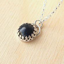 Load image into Gallery viewer, Blue Goldstone Pendant