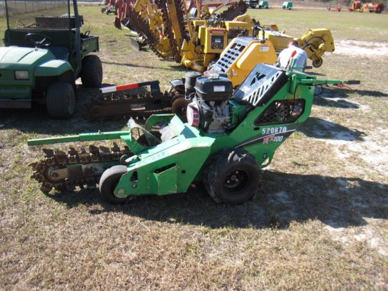 1350 Walk Behind Trencher For Rent