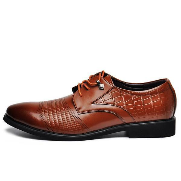 Deluxe Genuine Leather Oxfords