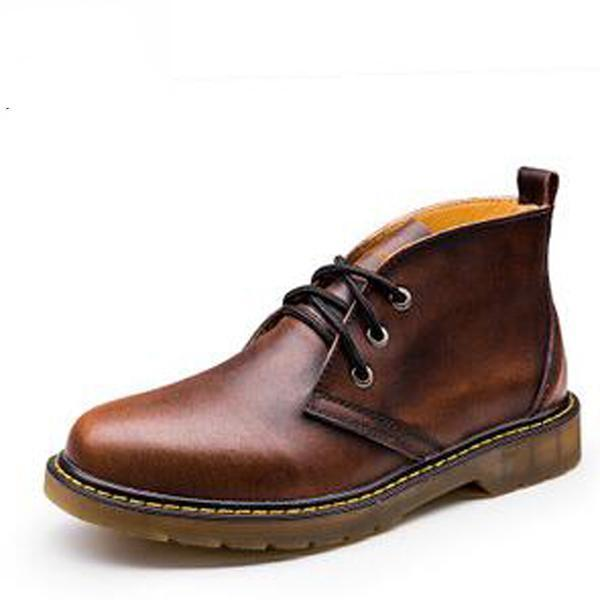 Men's Autumn High Quality Leather Boots