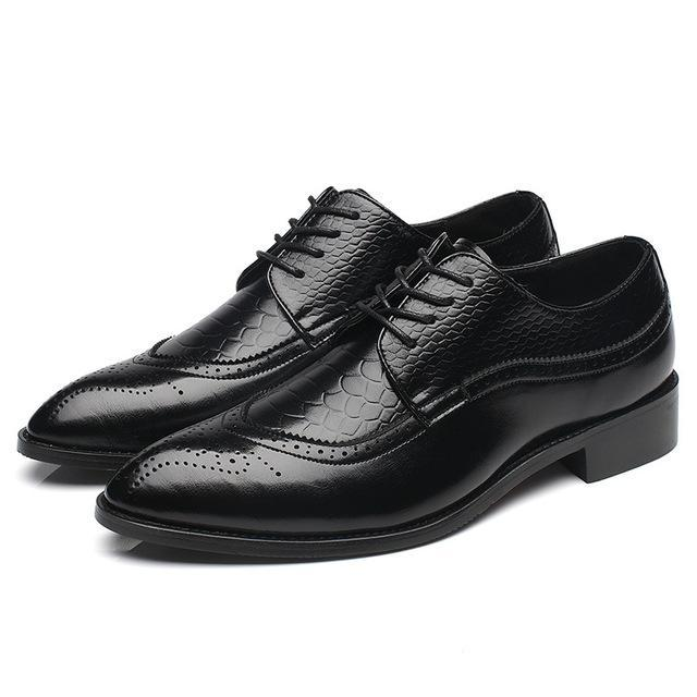 Men's Classic Oxford Leather Shoes