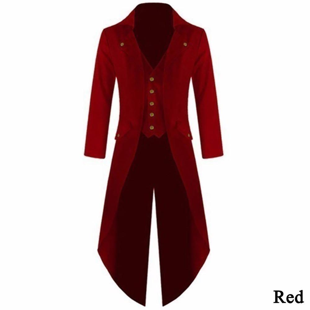 Men's Fashionable Retro Steampunk Tailcoat Jacket