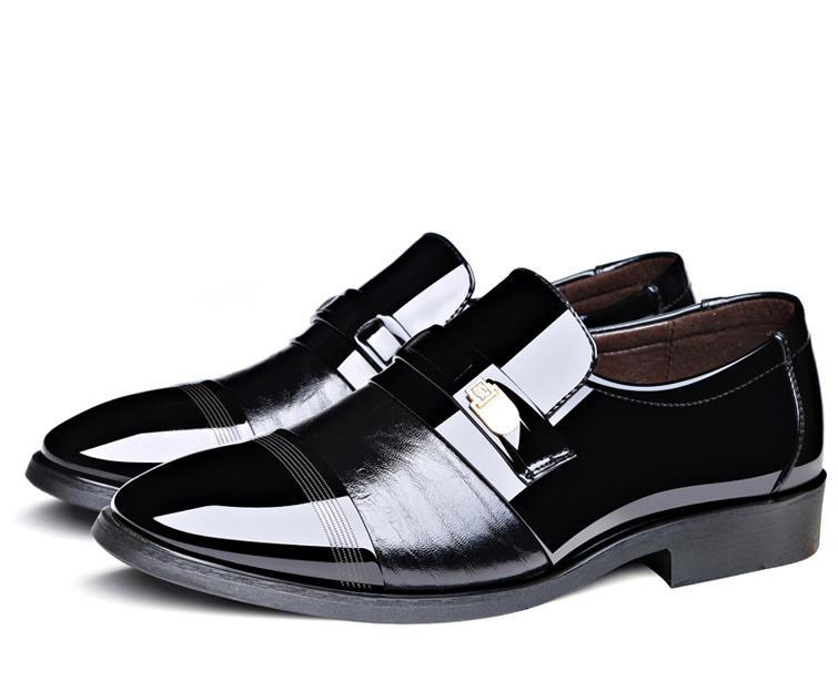 Men's High-Quality British Style Wedding Shoes