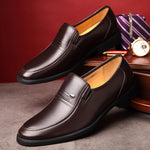 Men's Loafers Fashion Soft Leather Shoes
