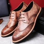 Classic Gentleman's Brogue Shoes