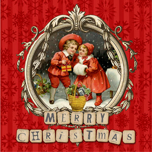 CHRISTMAS CARD FF21GC