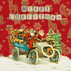 CHRISTMAS CARD FF28GC