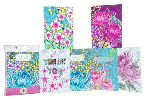 NOTECARDS 6 PACK KIM01NP