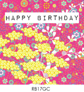 GREETING CARD RB17GC