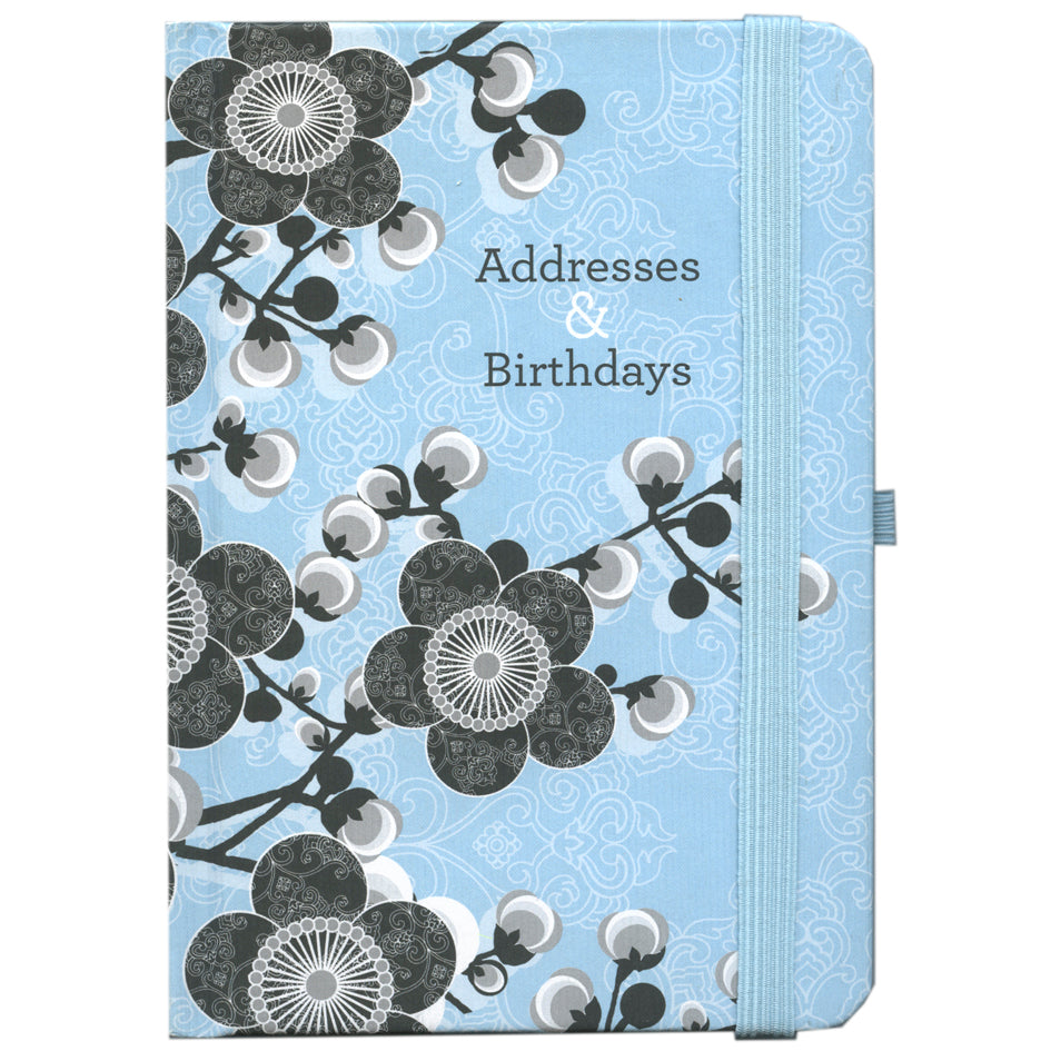 ADDRESS & BIRTHDAY NOTEBOOK TN26040