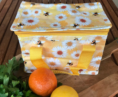 Insulated Lunch Bag - Daisy & Bees