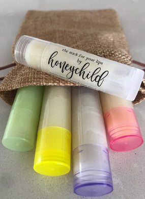 Lip Balm - 5pk -  'The Joyous Collection'  (stick for your lips)
