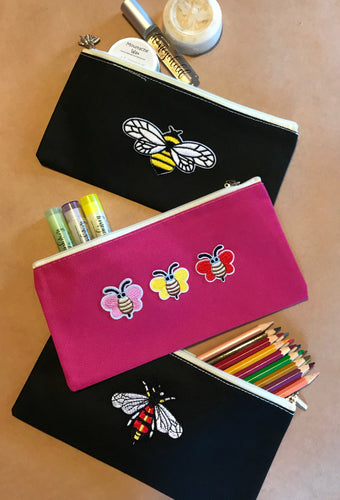 Cosmetic Pencil Case with zipper