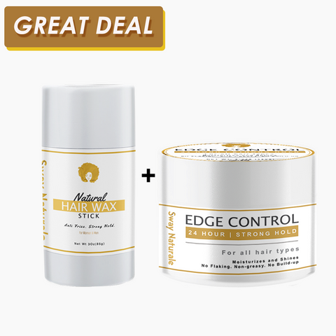 Edge control cream and Wax stick bundle