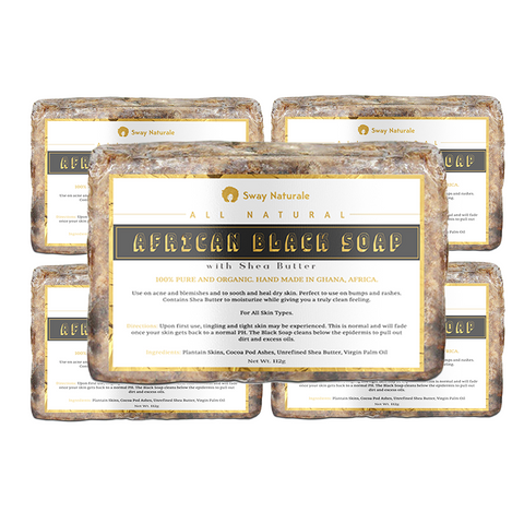 African Black Soap - 5 Pack