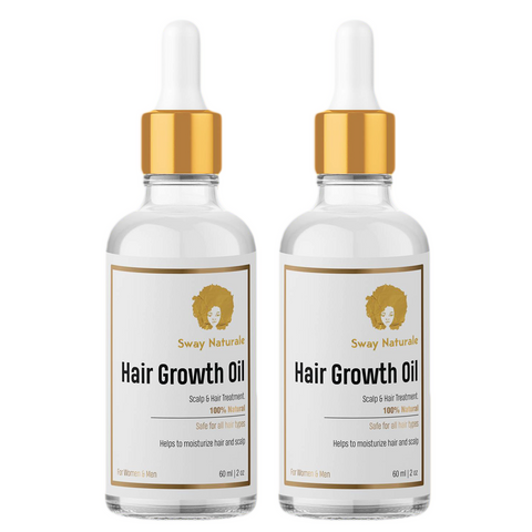 Hair Growth Oil - 2 Pack