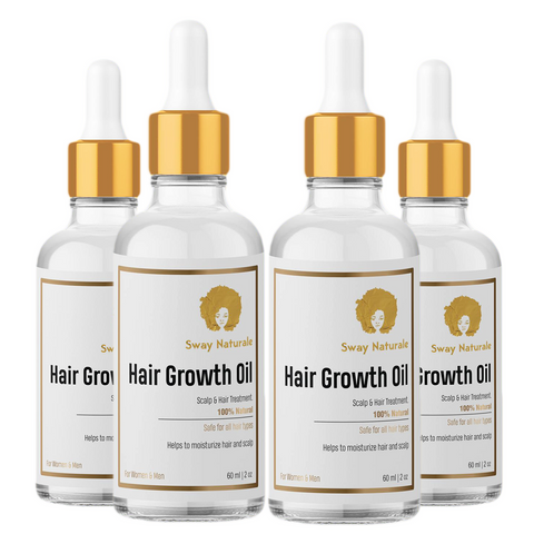 Hair Growth Oil - 4 Pack